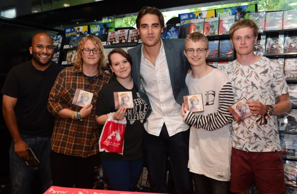Fans meet former Busted star Charlie