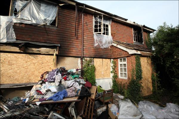Community rallies round to help home blaze family