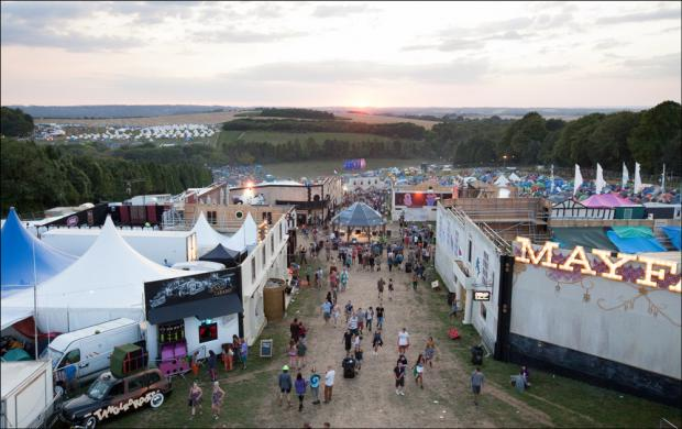 Woman found dead at festival named