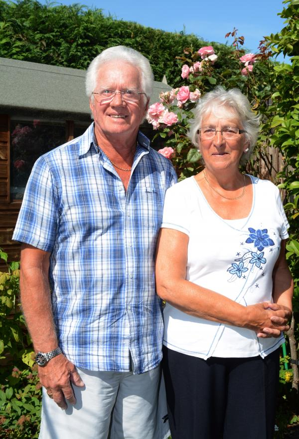 Couple still happy together 50 years after wedding was featured in the Daily Echo