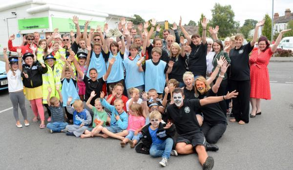 Family fun day for youth club