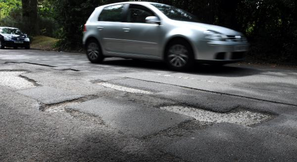 Pot holes 'not deep enough' to be fixed