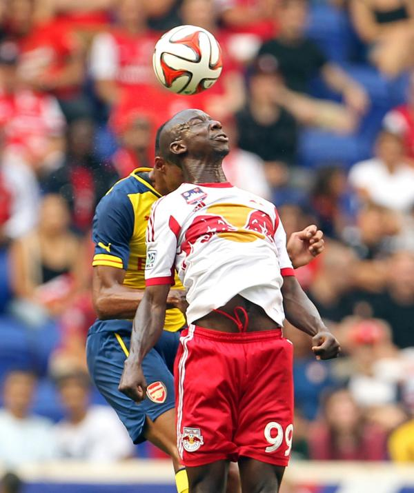 STATESIDE  SOCCER: Ex-Saint Bradley Wright-Phillips is playing for the New York Red Bulls alongside Thierry Henry.