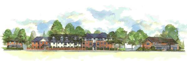 Proposed development in Beaulieu Road, Dibden Purlieu.