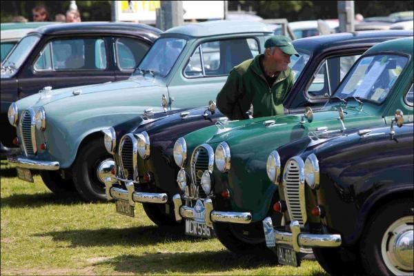 The Austin A30 and A35 Owners Club will be attending the rallies