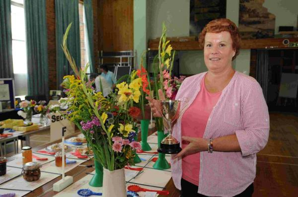 Gardening association's produce on display for annual show