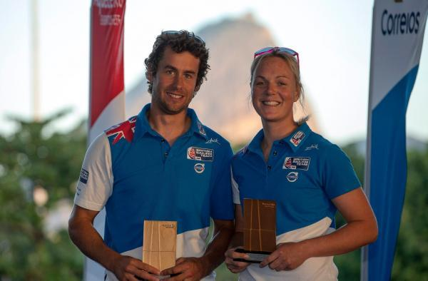 Dinghy duo are on the road to Rio