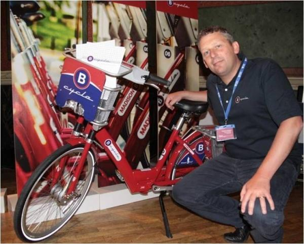 Graham Bright of B-Cycle which was due to run the scheme in the New Forest