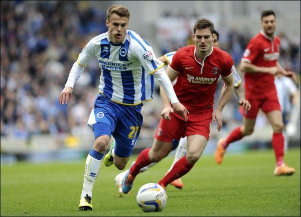 Saints linked with £4m bid for Brighton winger Solly March