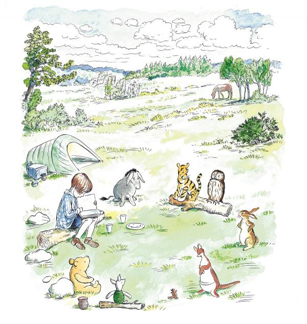 Winnie The Pooh Celebrates Simple Pleasures In New Forest
