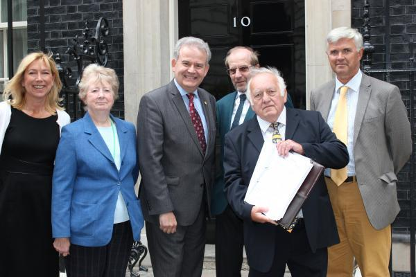 Petition over military port delivered to Downing Street