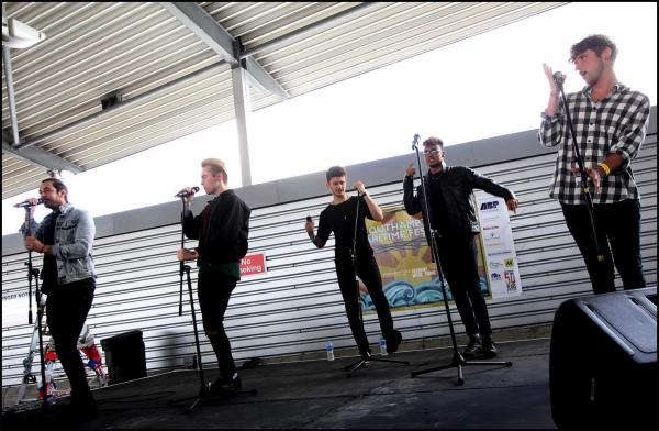 Kingsland Road performing in Southampton today.