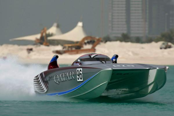VIDEO: Ecstatic power boat team celebrate smashing water speed record