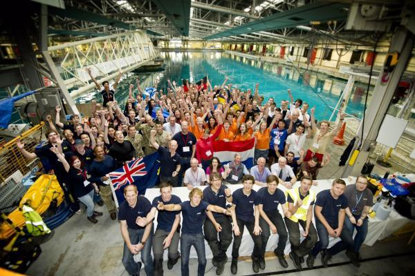 University teams battle it out for underwater supremacy