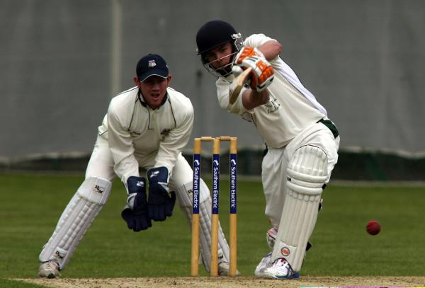 Ventnor skipper  Ben Woodhouse hit 94 against Hook