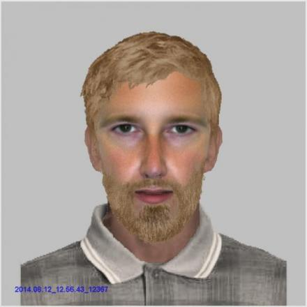 Police have released this e-fit image of a man they want to quiz about a robbery in Southampton