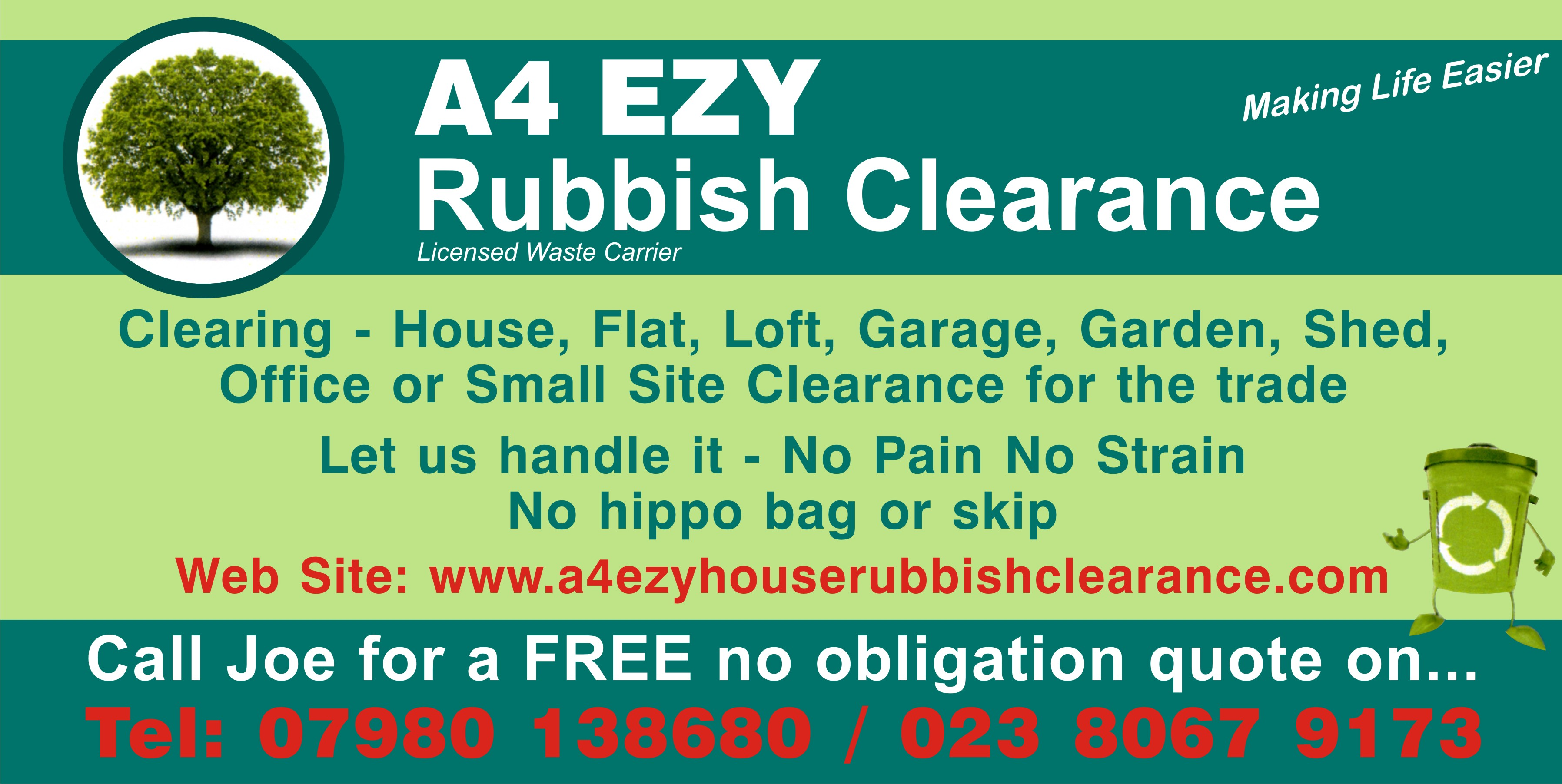 A4 Ezy House Rubbish Clearance