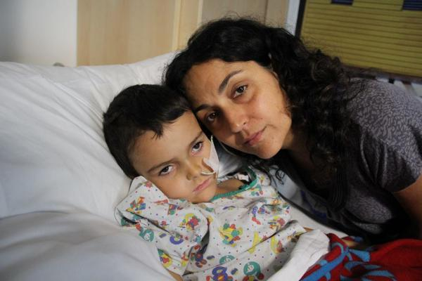 Ashya King and mother Naghemeh