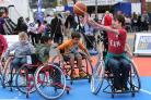 VIDEO: Wheelchair basketball