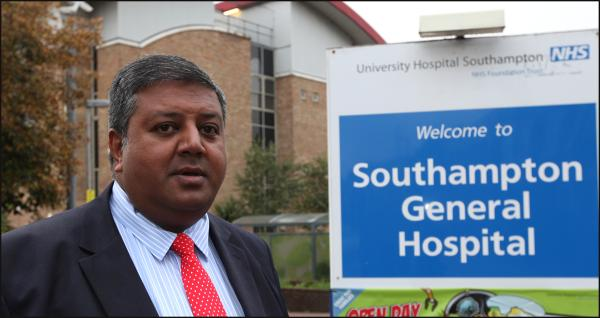 Sanjay Ganatra who is due to head to Downing Street today