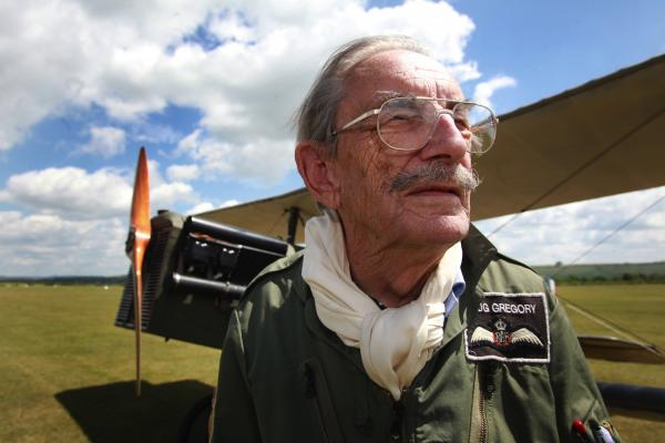 'My lifelong love affair with aeroplanes' how a former fighter pilot has only just hung up his goggles aged 90