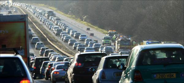 The Government has pledged to tackle noise nuisance on the M3, pictured