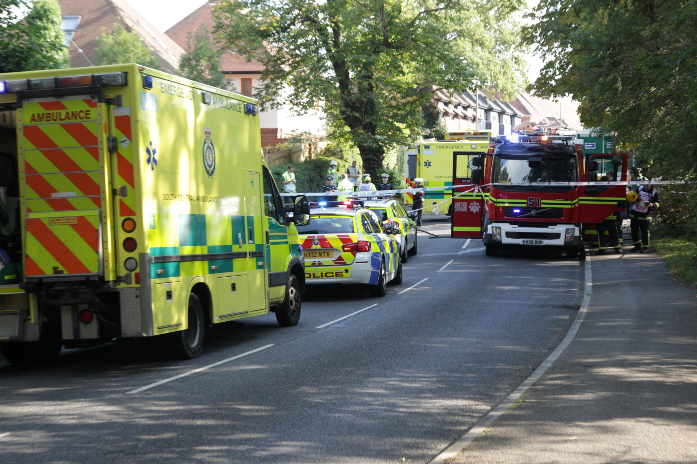 Paramedics in hospital after 'emergency conditions' crash between ambulance and lorry