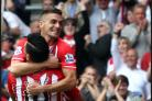 Graziano Pelle and Dusan Tadic feel the love at St Mary's