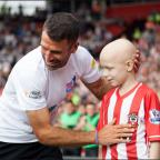Daily Echo: Francis Benali heads for home as his Big Run reaches it's conclusion.