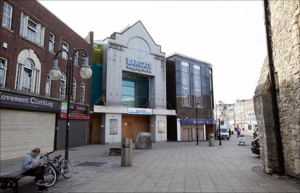 The Bargate Centre has been boarded up since June last year