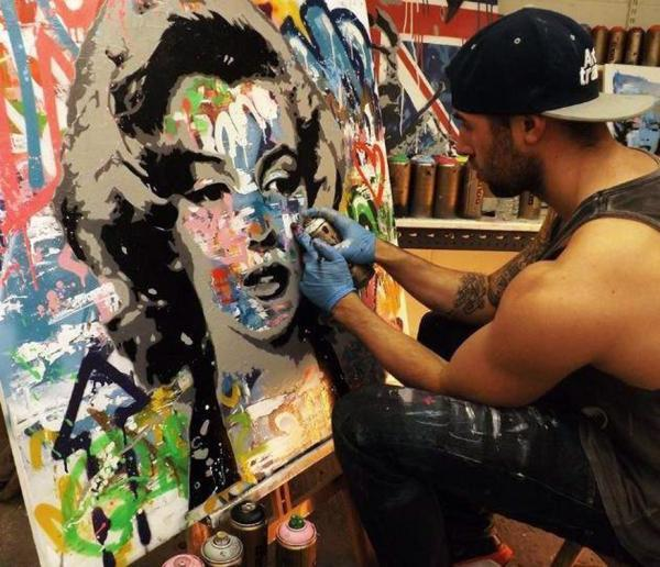 Elmo Hood\'s art will help humanitarian effort | Daily Echo
