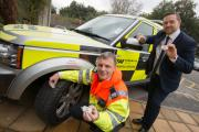 John McTaggart from the Highways Agency and Stuart Jackson from TyreSafe