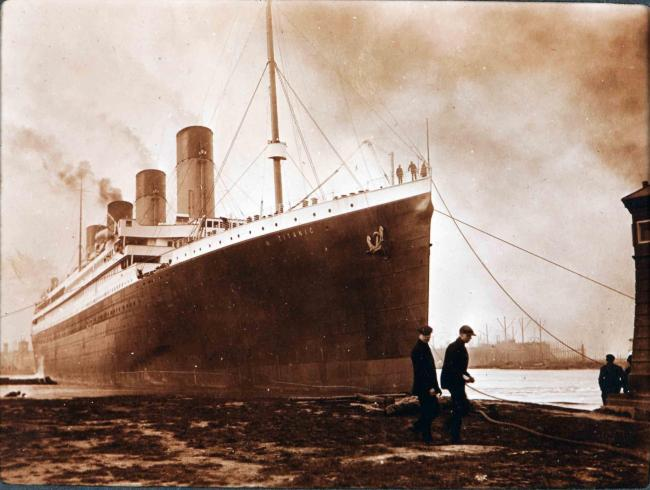 Titanic menu sells for £60,000 while locker key fetches £62,000 at auction