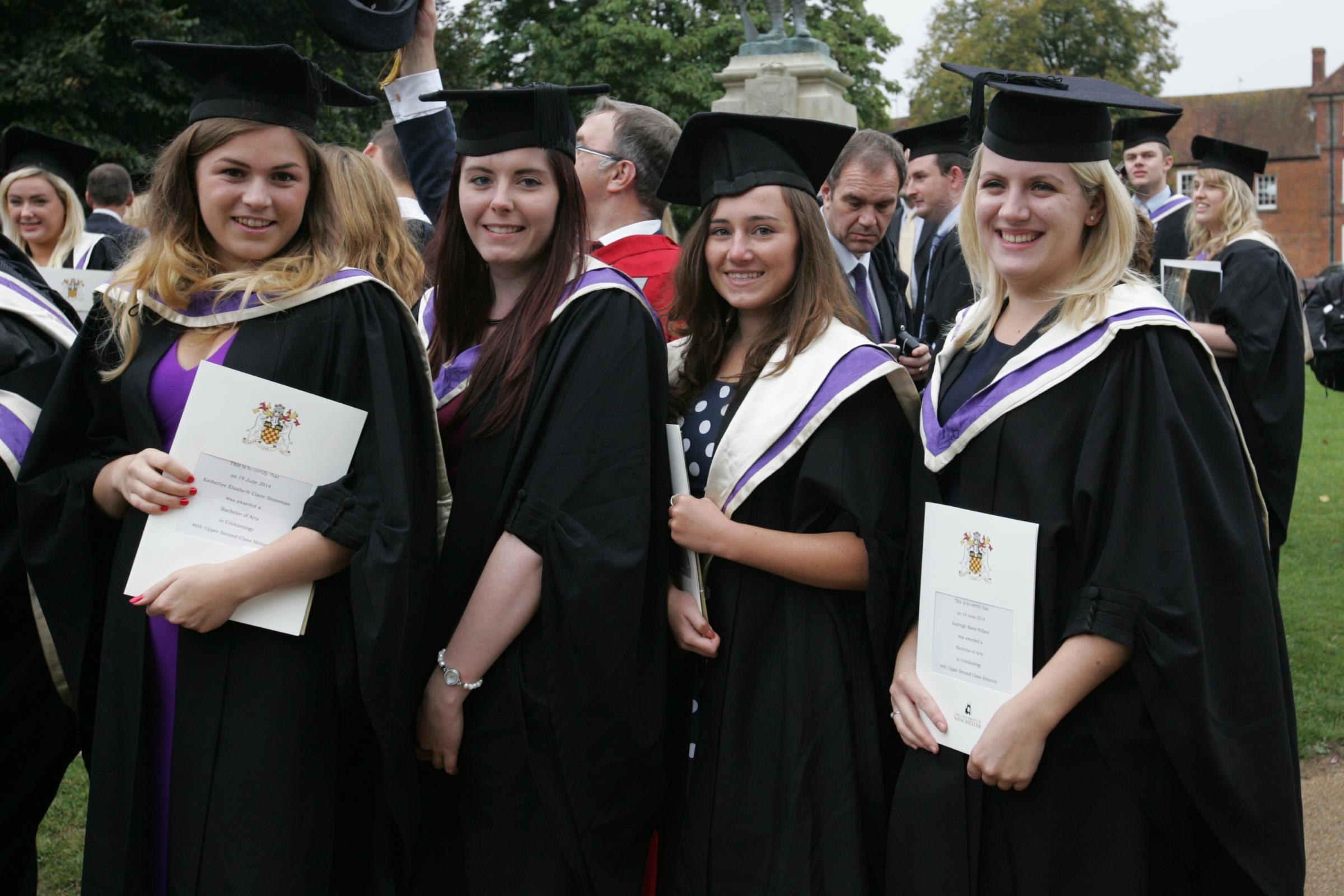 University of Winchester graduation - gallery - from Daily Echo
