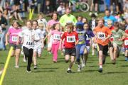 Eversley Park in Kings Worthy has been used for a variety of activities including a village fun run