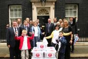 FLASHBACK: Have a Heart campaigners deliver their 250,000 signatures to 10 Downing Street in 2011.