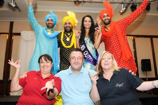Colourful Fun At Second Asian Wedding Show From Daily Echo