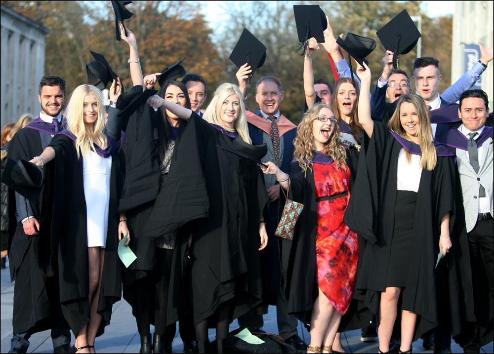 Graduation Day At Solent University Daily Echo