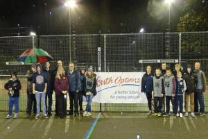 Cage cricket arena opens in Eastleigh
