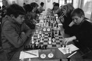 Budding chess champs in Southampton in November 1985