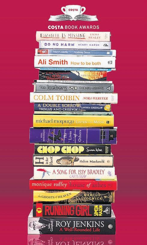 Win the 2014 Costa Book Awards shortlist as part of the