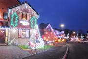 LET THERE BE LIGHTS: Greyhound Close is lit up for Christmas