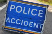 Crash closes motorway