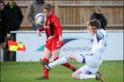 Action from today's clash between Winchester City and An