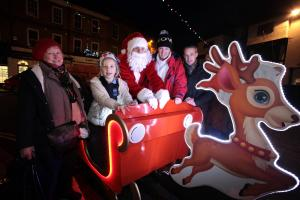 Santa pays a visit to Hampshire communities