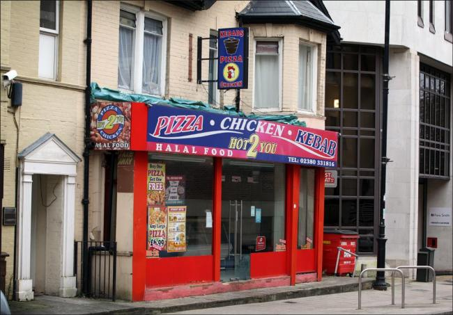 Pizza Chicken Kebab Hot 2 U In Bedford Place Was Refused