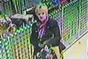 CCTV released in search after handbag stolen in shop