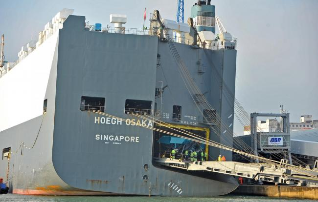Shortcuts' caused the Hoegh Osaka to run aground in the