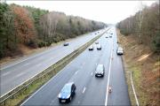 The M27 motorway