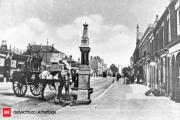 Shirley High Street drinking fountain pictured here at the turn of the Century.